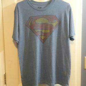 Superman Marvel Comics Short Sleeved Shirt